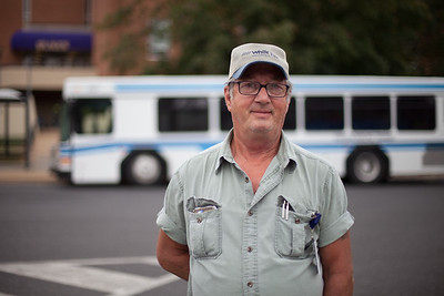 Darryll Fisher has been driving for 15 years and is one of the veterans of the trade