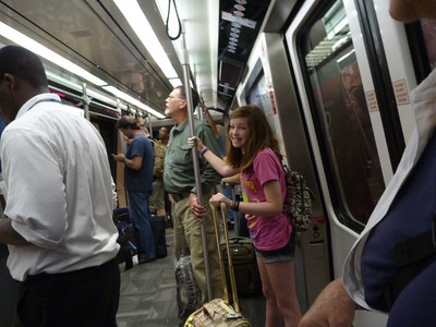 airport tram in Atlanta