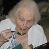 Sylvia Eats her Birthday Cake