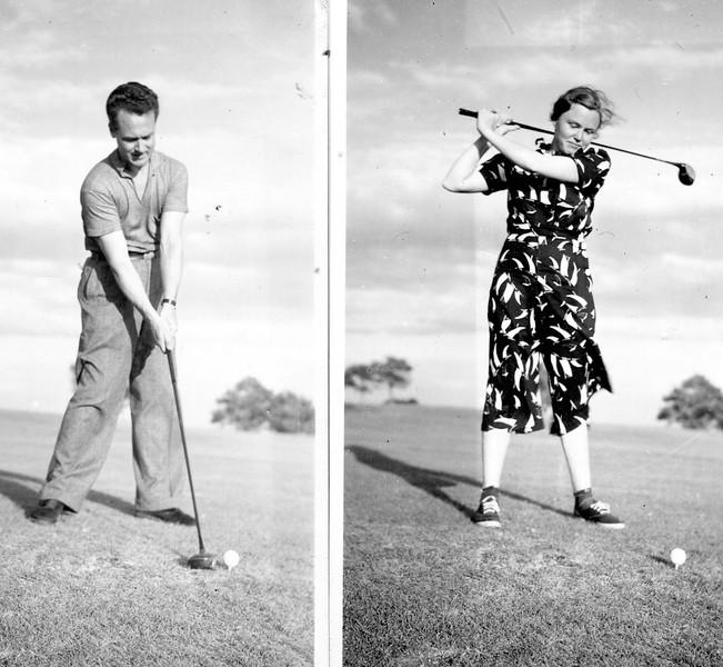 Ed and Sylvia, circa 1950