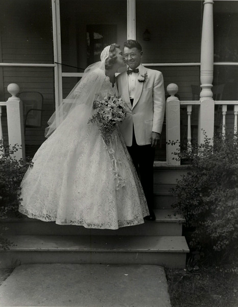 Sylvia & Nick Wedding Photos 1954