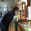 1  Glen looking through stereoscopic viewer