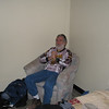 6. Glen in our hotel room