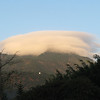 10. cloud over the mountain
