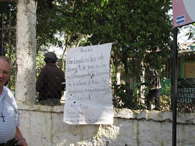 Honduras June 2010
