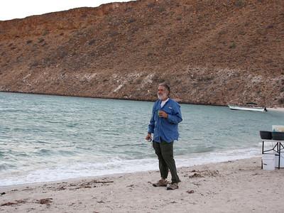 18  Glen studies the sea