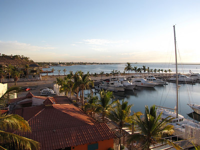 3  View of the marina from our hotel balcony