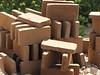 8  drying bricks