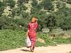 8  girl walking