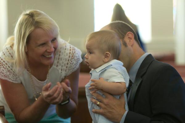 Benjamin Baby Dedication 5-21-16