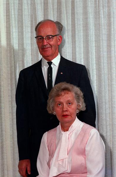 "1964 - T Edgar Lyon and ""Mom"""