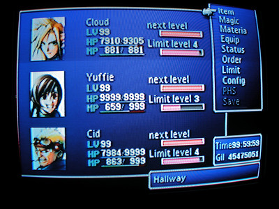FFVII Perfection File - Winter 2006