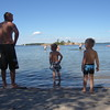 Jocke, William & Alex playing at the beach...