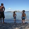 Jocke, William & Alex playing at the beach...