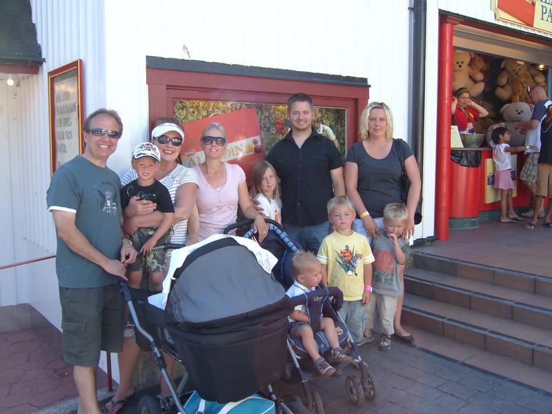 IT'S THE MOTLEY CREW AT GRONE LUND....Sweden's version of Disneyland