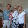 INA, GRAMPY, SMILLA AND LINDA AT INA'S APARTMENT ON SKEPPARGATAN 24...