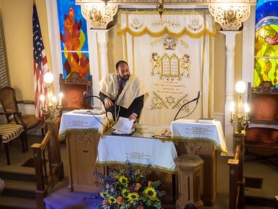 Tahnie's Bat Mitzvah Ceremony, September 22, 2018 (video clips}