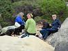 Peek a boo on the rocks
