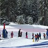 Hal's first ski class!