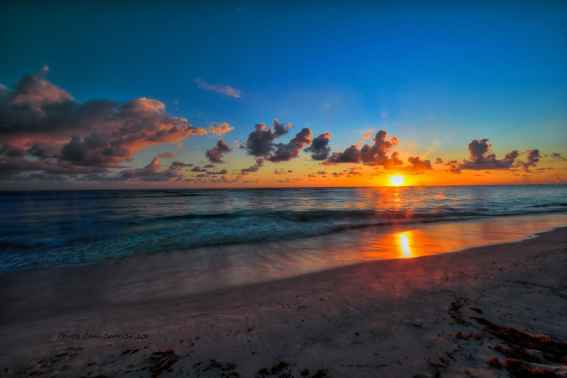 Sunrise in Punta Cana, Dominican Republic