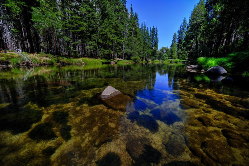 Merced River in Yosemite, California