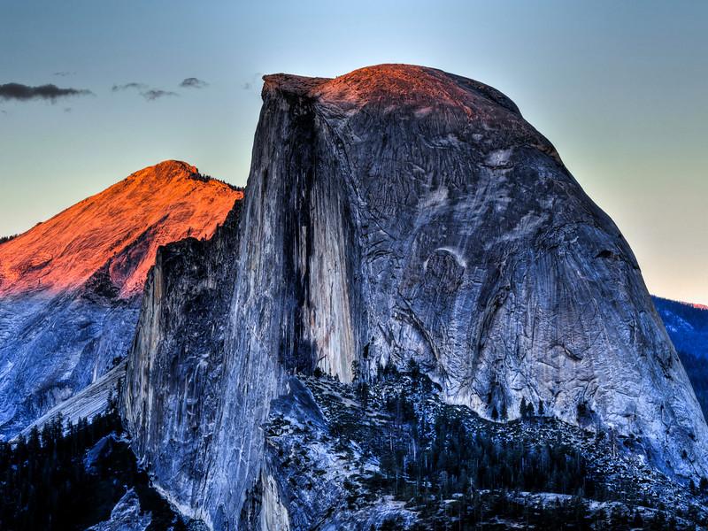 Half Dome in Yosemite, California