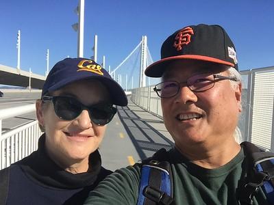 Bay Bridge Hike, Jan 28, 2018