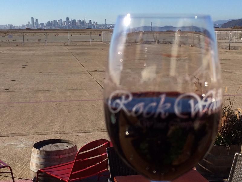12.21.13:  Wine pick-up rest, Rock Wall