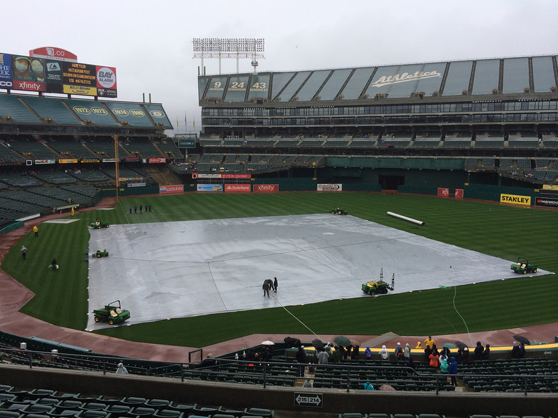 1pm, tarp still on.  Water pumps out.