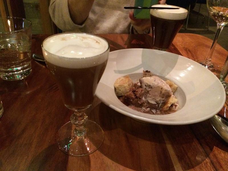 Irish Coffees, Spoonbar version