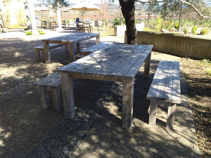 Quivara.  Picnic table we want.