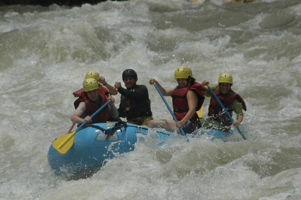 Keeley, Costa Rica Rafting, June 1, 2004