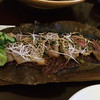 Magnolia Leaf Roasted Duck Breast / hachiyo miso / negi / enoki mushroom / cucumber pickles  17