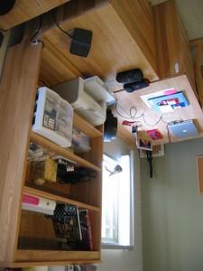 K's desk