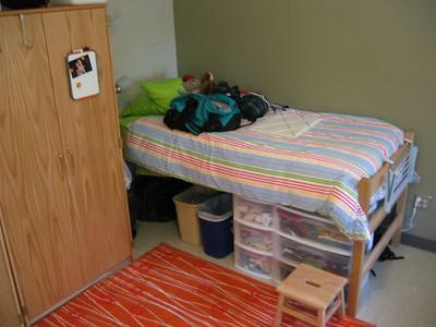 K's bed