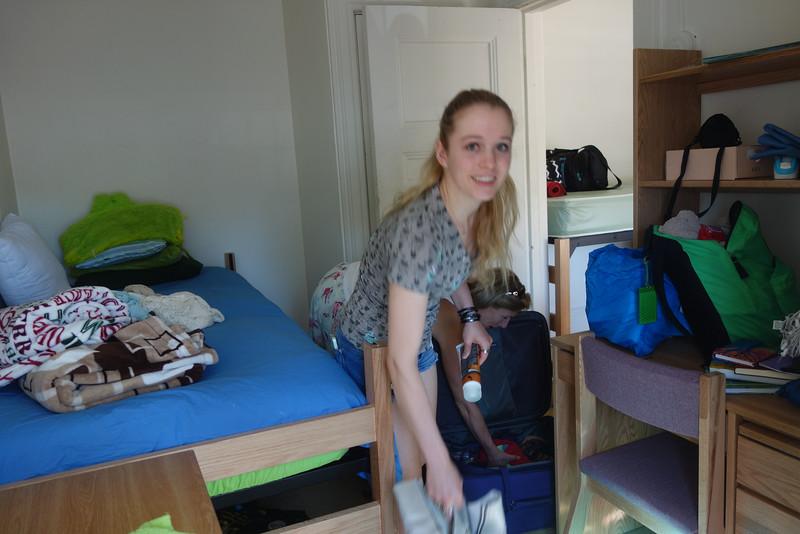 Starting to unpack