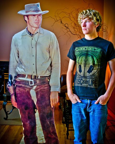 Hunter & Clint