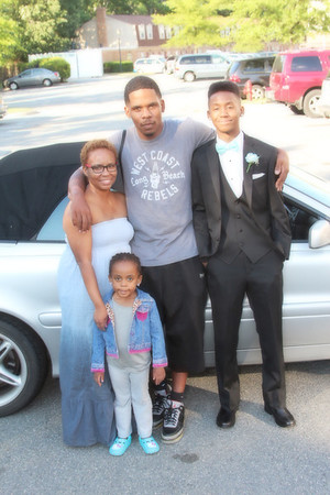 Armani and family