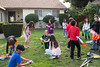 (Mustering the troops at Nicole's Nerf Battle Birthday Party)