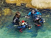 Tannon falling in love with SCUBA at the MBAQ