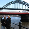 Newcastle centre of the north east of England