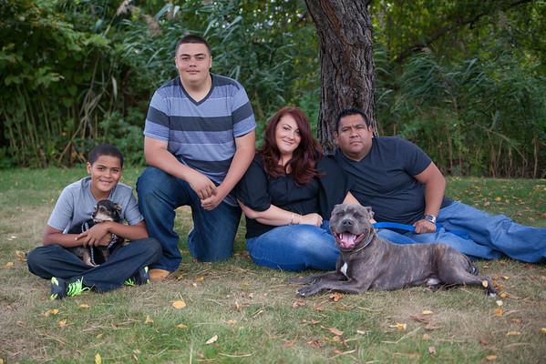 Tara Oscar Chris and Jaden and Dogs Sept 2013