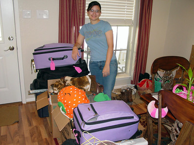 Tara's off to college 2007
