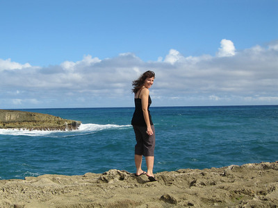 Tauna at Laie point