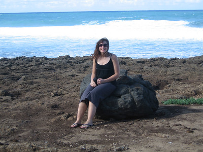 Tauna at Kaena point
