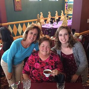 Tea w Joy and Kathleen 2-19-17