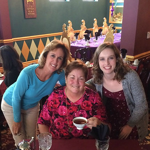 Tea w Joy and Kathleen 2-19-17