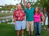 Harvey, Mike, Teddi at Lakeland Harbor