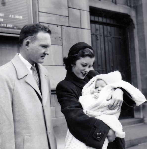 1954 After Jim Baptism Feb 14