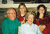 2001 Dec Mary Ann - Jim - Emily - Katie at Xmas